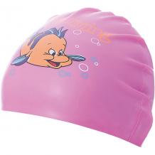 Силиконовая шапочка для плавания Dobest, с рисунком, розовая ( ID 7687416 )