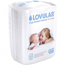 Купить подгузники lovular hot wind m 5-10 кг., 18 шт. ( id 10878193 )