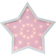 Купить светильник настенный ночной лучик «звездочка», розовый ( id 12370852 )