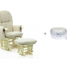 Купить кресло для мамы tutti bambini daisy gc35 со стерилизатором для свч tommee tippee