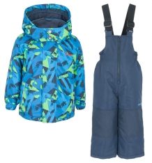 Купить комплект куртка/полукомбинезон zingaro by gusti, цвет: голубой/салатовый ( id 9911160 )