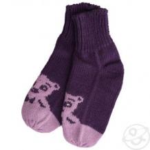 Купить носки журавлик мишаня, цвет: фиолетовый ( id 11244914 )