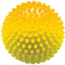 Мяч ёжик желтый, 8,5 см, МалышОК ( ID 6894015 )