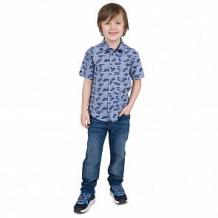 Купить рубашка leader kids, цвет: серый/голубой ( id 11457232 )