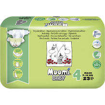Купить подгузники muumi maxi 7-14 кг, 23 штуки ( id 11552404 )