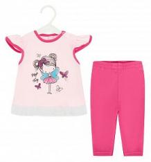 Купить комплект футболка/бриджи koala magiczna wrozka, цвет: розовый ( id 8845789 )