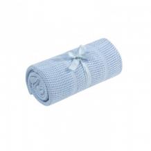 Плед для кроватки Mothercare хлопковый, 155х120 см, голубой Mothercare 5849213