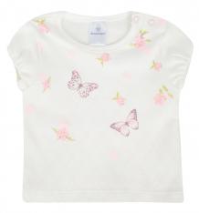 Купить футболка мамуляндия флер, цвет: молочный 1183934