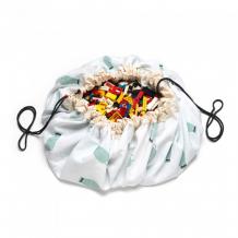 Купить play&go 2 в 1: мешок для хранения игрушек и игровой коврик поезд 79989