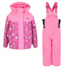 Купить комплект куртка/полукомбинезон fobs, цвет: фуксия ( id 9839487 )