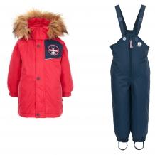 Купить комплект куртка/комбинезон лайки, цвет: красный/синий ( id 7464673 )