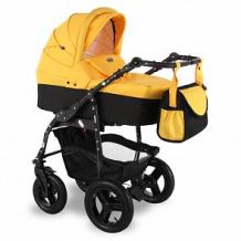 Купить коляска-люлька sevillababy mirra, цвет: желтый ( id 12646408 )