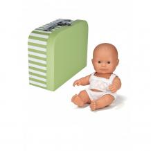 Купить miniland кукла пупс девочка европейка с одним комплектом одежды в чемоданчике 21 см de219691