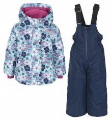 Купить комплект куртка/полукомбинезон salve by gusti, цвет: голубой/розовый ( id 9820194 )