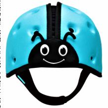 """Купить мягкая шапка-шлем для защиты головы safeheadbaby """"божья коровка"""", цвет: синий safeheadbaby 996939845"""