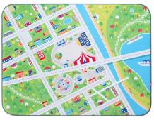 Купить wolli matlig ковер плюшевый маленький город 3 в 1 120х160 см 0331