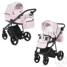 Купить коляска 2 в 1 adamex verona, цвет: розовый ( id 12690904 )