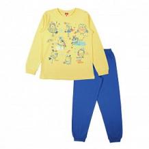 Купить пижама джемпер/брюки cherubino, цвет: желтый ( id 11363020 )