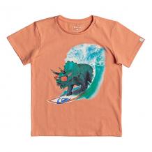 Купить футболка детская quiksilver get off boy cadmium orange оранжевый 1195198