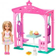 """Купить mattel barbie fdb34 барби """"челси и набор мебели"""""""