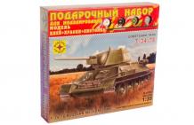 Купить моделист модель подарочный набор танк т-34-76 образец 1942 г. пн303546