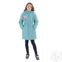 Купить пальто милашка сьюзи, цвет: бирюзовый ( id 11446582 )