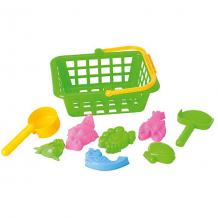 """Купить игровой набор """"жители моря"""", 8 предм., в корзинке, hualian toys ( id 4622255 )"""