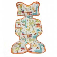 Купить capina двухсторонний универсальный матрасик жирафы b100625