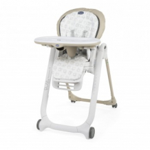 Купить стульчик для кормления chicco polly progres5 beige, бежевый chicco 997124080
