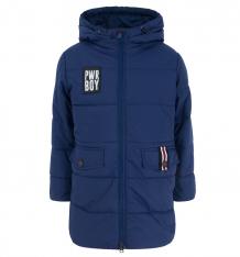 Купить пальто boom, цвет: синий 80372_bob вар.1