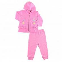 Купить комплект толстовка/брюки takro, цвет: розовый ( id 11155430 )