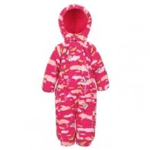 Купить комбинезон lappi kids утепленный, цвет: розовый ( id 3348866 )