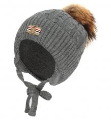 Купить шапка fun time, цвет: серый f18an4957-2