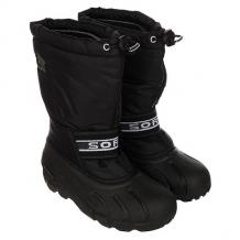 Купить сапоги зимние детские sorel youth cub black черный 1164875