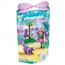 Купить конструктор playmobil девочка-фея с животными друзьями 9140pm