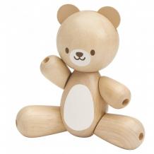 Купить деревянная игрушка plan toys игрушечный мишка 5241