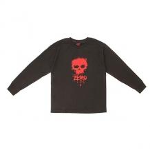 Лонгслив детский Zero Skull Black черный ( ID 1150235 )