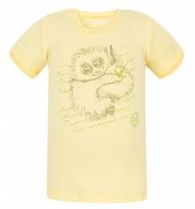 Купить футболка бамбук, цвет: желтый ( id 5945461 )