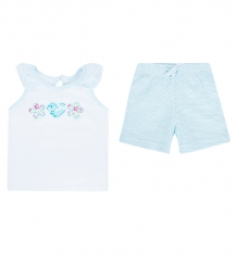 Купить комплект майка/шорты play today юный чемпион, цвет: белый/голубой ( id 5277103 )