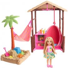"""Купить игровой набор barbie """"путешествия"""" челси и хижина ( id 10524991 )"""