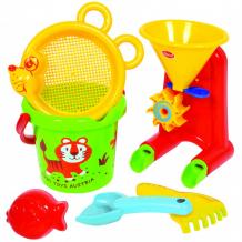 Купить gowi набор для игры с песком и водой № 1 6 предметов 558-39