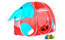 Купить calida дом-палатка + 100 шаров слоник 666
