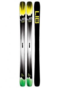 Купить лыжи lib tech 16 ski backwards 172 2pk ast черный,желтый 1175985