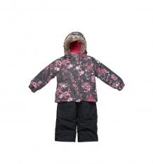 Купить комплект куртка/полукомбинезон peluche&tartine, цвет: розовый ( id 9987528 )