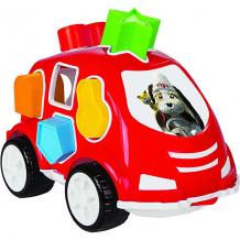 Купить машинка с кубиками pilsan smart shape sorter car, красная ( id 11192063 )