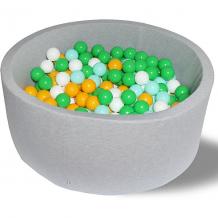 """Купить сухой бассейн hotenok """"дискотека"""" 40 см, 200 шариков 9633826"""
