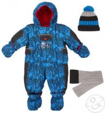 Комплект комбинезон/шапка/шарф Gusti Boutique, цвет: синий ( ID 1150190 )