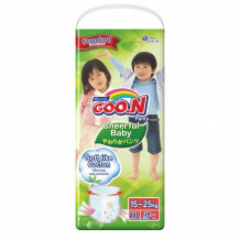 Купить goon подгузники-трусики cheerful xxl (15-25 кг) 34 шт.