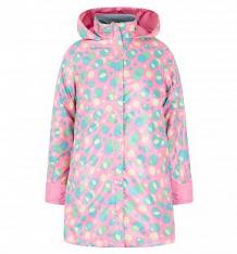 Купить плащ ursindo горошина, цвет: розовый ( id 8754319 )