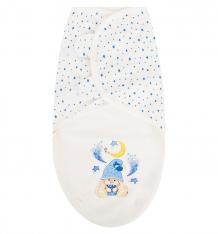 Купить babyglory пеленка маленький гномик, цвет: голубой mg010